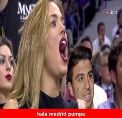 Real Madrid-Fenerbahçe caps'leri güldürüyor