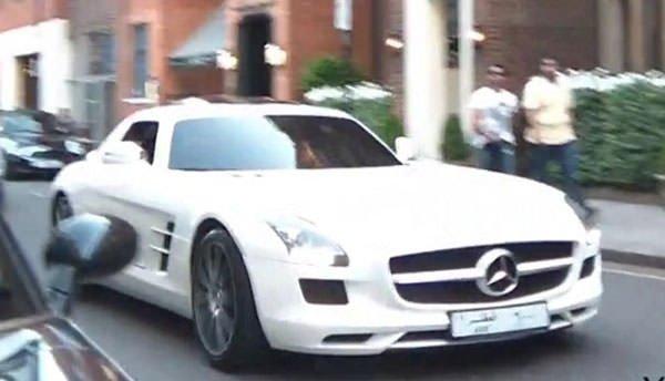 Arap milyarderlerin lüks otomobilleri