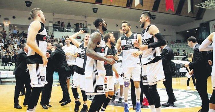 Beşiktaş finalin eşiğinde