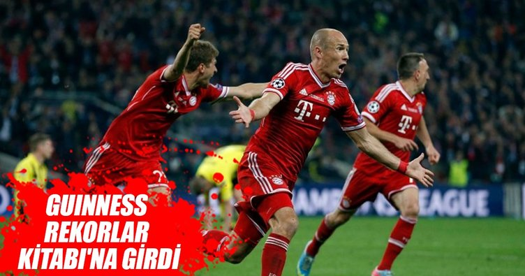 Bayern Münih, Guinness Rekorlar Kitabı'na girdi