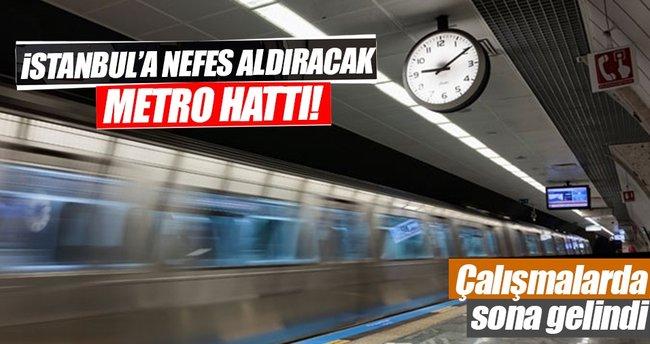 Mahmutbey - Mecidiyeköy metrosu tamamlanıyor