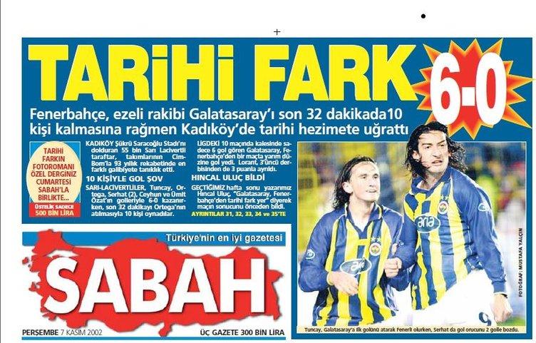 1999'dan bu yana Kadıköy'de zafer manşetleri!