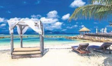 Tropikal adalarda romantik tatil bir başka