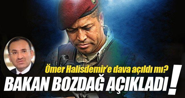 Bakan Bozdağ'dan flaş Ömer Halisdemir açıklaması!