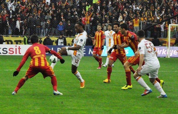 Kayserispor - Galatasaray