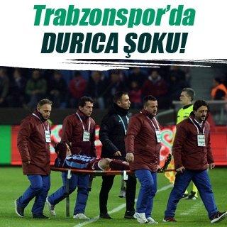Trabzonspor'da Durica şoku!