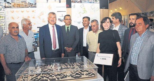 Seyhan'ın meydan projeleri sergilendi