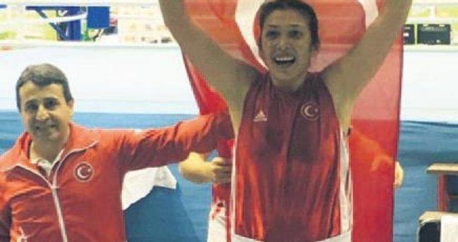 Türkiye'nin altın kızı Elif