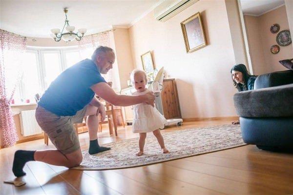 Kolları olmayan bebeğin muhteşem öyküsü