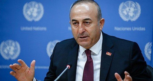 Çavuşoğlu'dan Trump'a tebrik