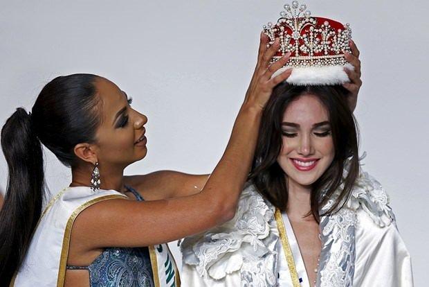 Yeni kraliçe Venezuela'dan