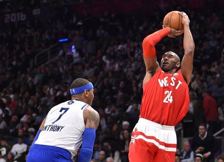 Kobe Bryant veda etti