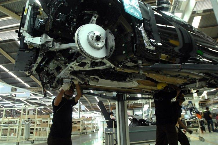 Yeni BMW 7 serisi'nin Endonezya'daki üretim tesisleri