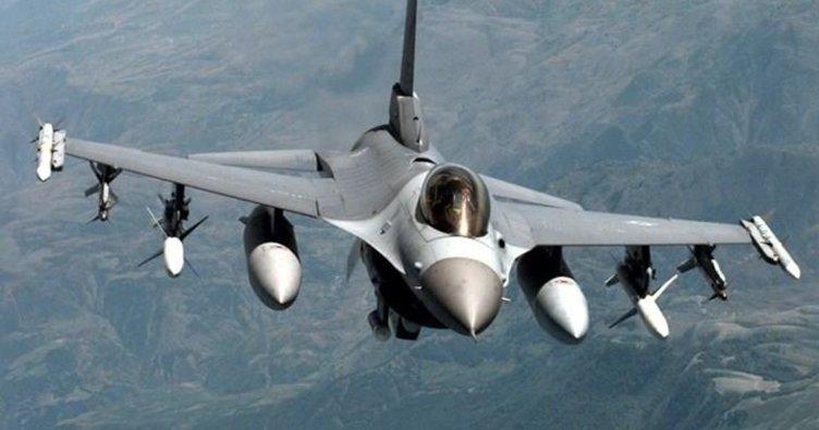 Saldırı hazırlığındaki teröristler savaş uçaklarıyla vuruldu