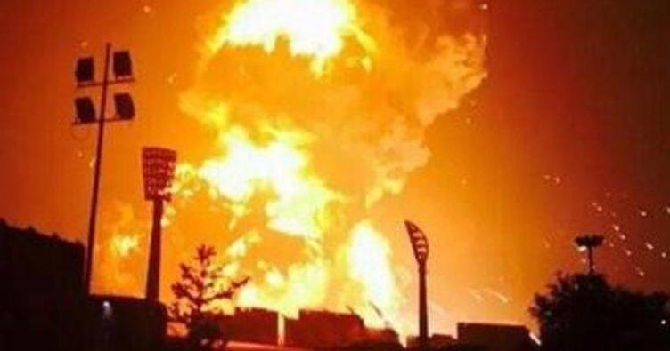 Çin'de dinamit tesisinde patlama : 5 ölü!