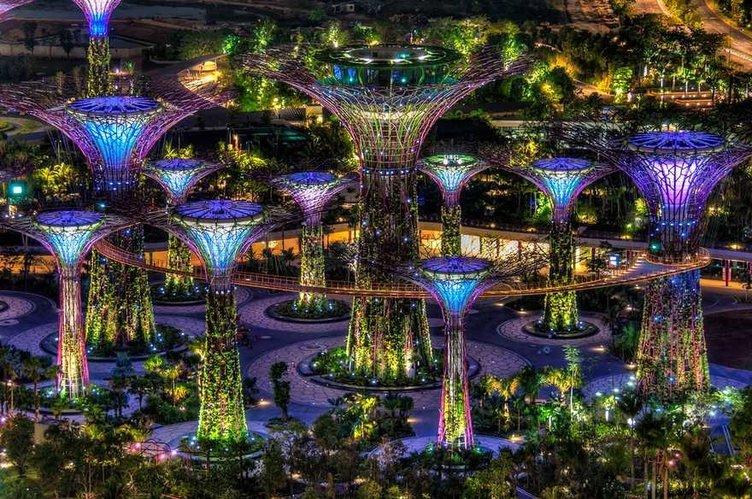 Singapur'un muhteşem yüzü