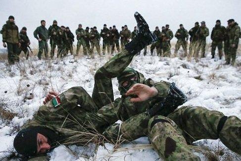 'Ölüm taburu' o bölgede savaşıyor