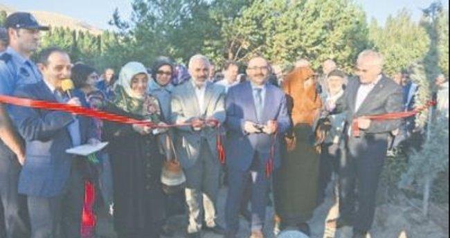 Bayburt'ta Şehitler Parkı törenle açıldı