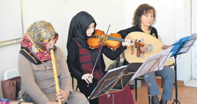 Mamak'ta tasavvuf müziği korosu kuruldu