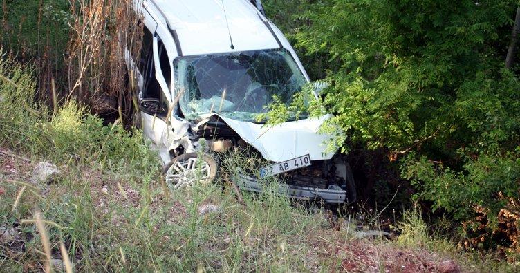 Çelikhan'da kaza: 5 yaralı