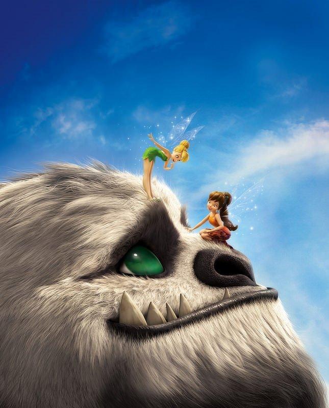 Tinker Bell ve Canavar Efsanesi filminden kareler