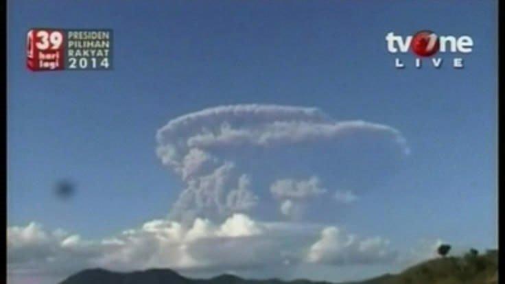 Alaska'da volkan patlaması alarmı