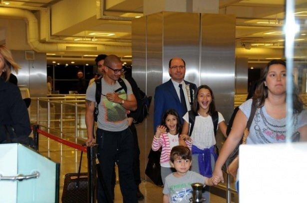 Alex de Souza İstanbul geldi