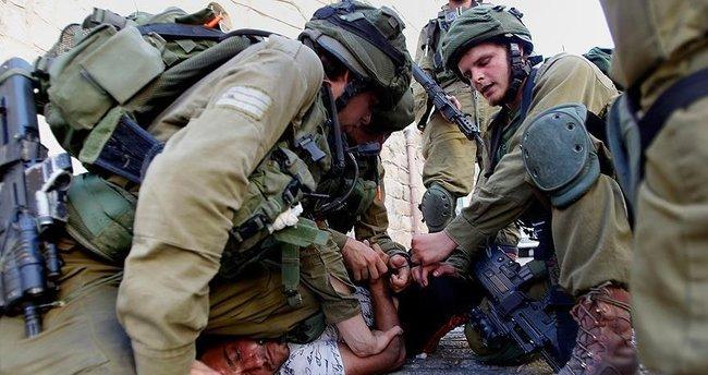 İsrail güçleri Batı Şeria'da 21 Filistinliyi gözaltına aldı
