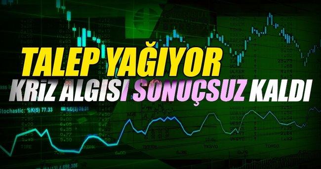 Türk tahviline talep yağdı