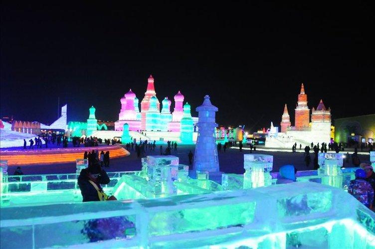 Harbin Buz ve Kar Festivali