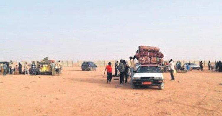Ordu, Sahra Çölü'nde 92 göçmeni kurtardı