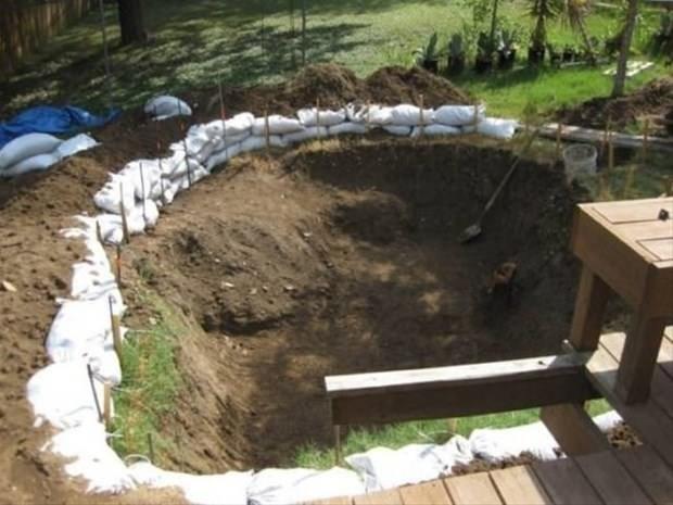 Bahçede havuz yapmanın yolları