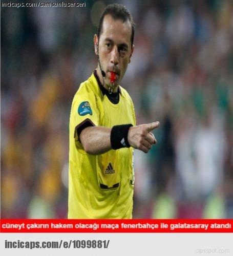 Fenerbahçe - Galatasaray capsleri