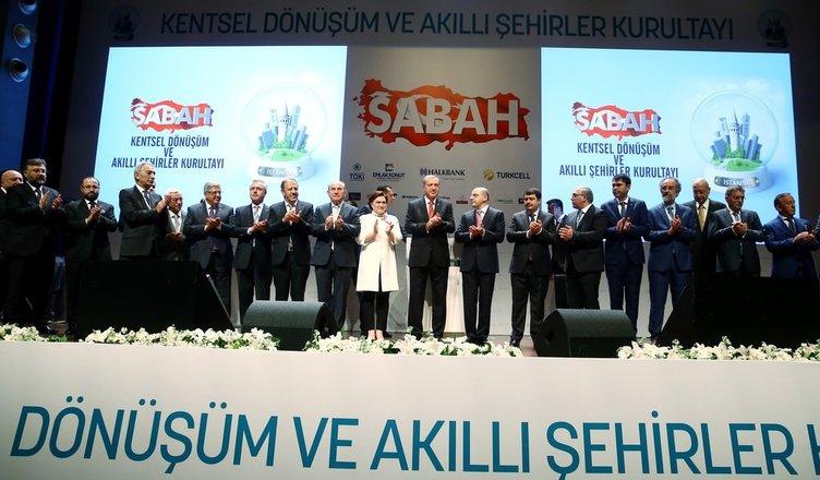 Erdoğan Kentsel Dönüşüm Kurultayı'nda konuştu