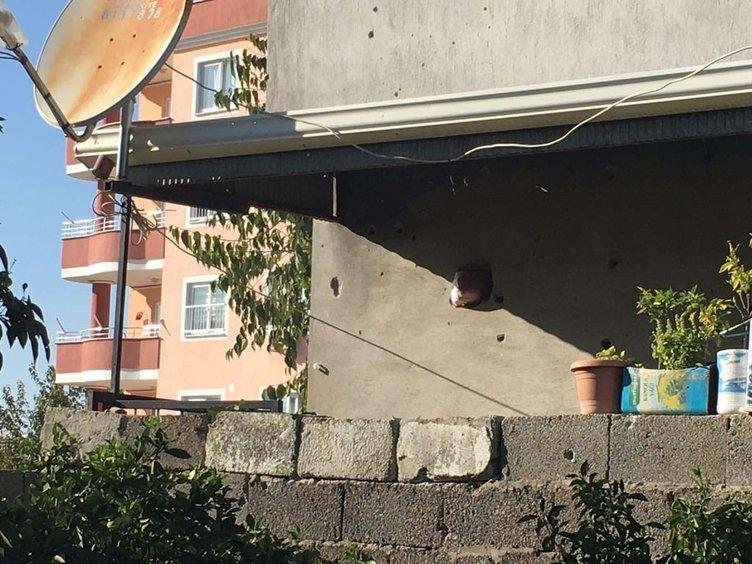 İki mahalleye havan mermisi atıldı