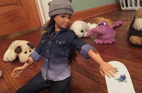 Barbie bebekte devrim