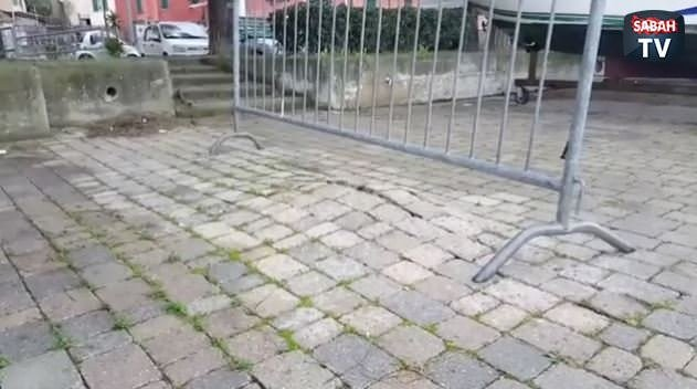 Sokak taşlarının görüntüsü!