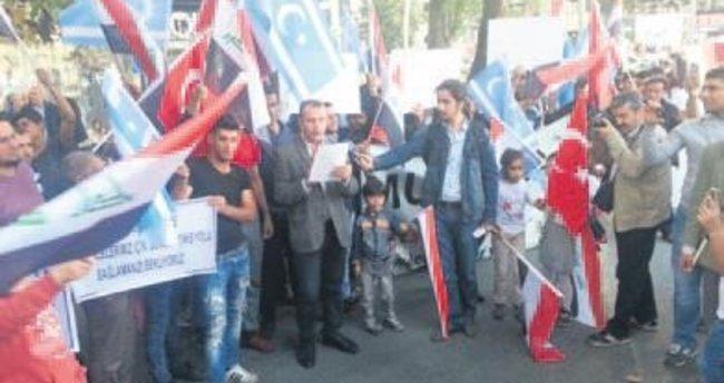 Iraklı Türkmenlerden Musul protestosu