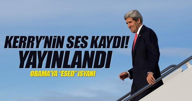 John Kerry'nin ses kasedi yayınlandı!