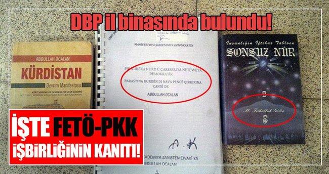 DBP il binasında Öcalan ve Gülen'in kitabı bulundu
