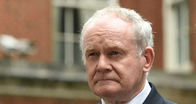 Martin McGuinness hayatını kaybetti