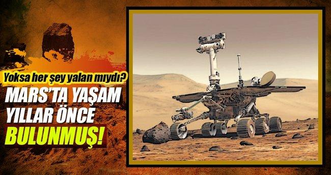 NASA Mars'ta 10 yıl önce hayat bulmuş