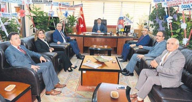 Erdoğan: Adında Denizli olan işlerde varız