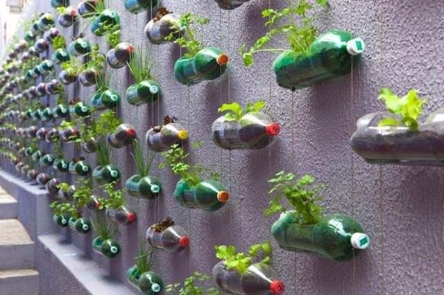Plastik şişeden dekoratif öneriler
