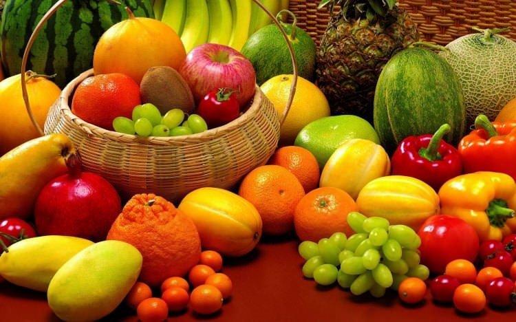 İşte sağlık deposu sebze ve meyveler!