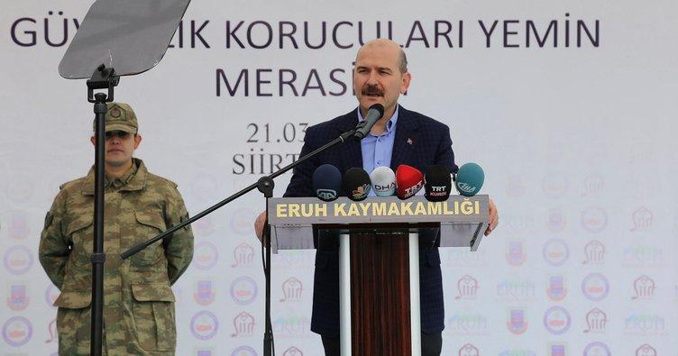 İçişleri Bakanı Soylu: Tamamen çökertilmiştir