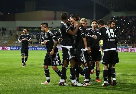 Sivasspor - Beşiktaş maçından görüntüler