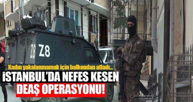 Esenyurt'ta DEAŞ Operasyonu