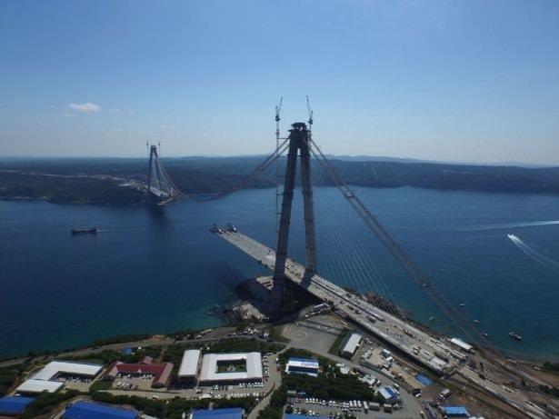3. Boğaz Köprüsü'nde son 648 metre