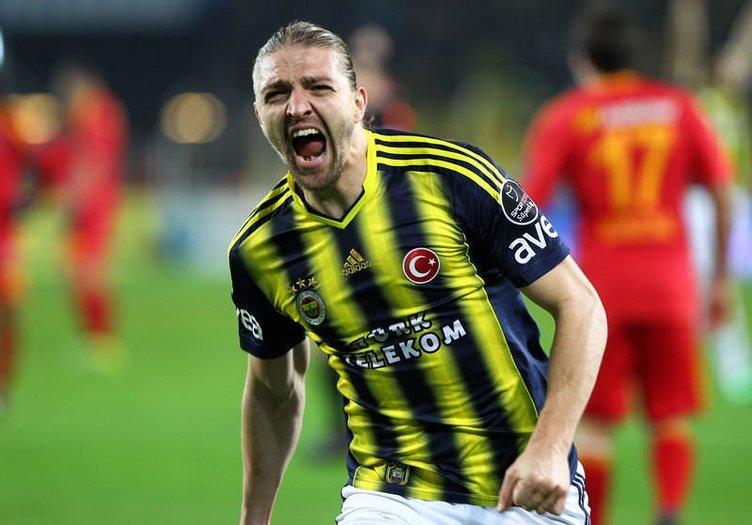Fenerbahçe - Kayserispor maçından kareler